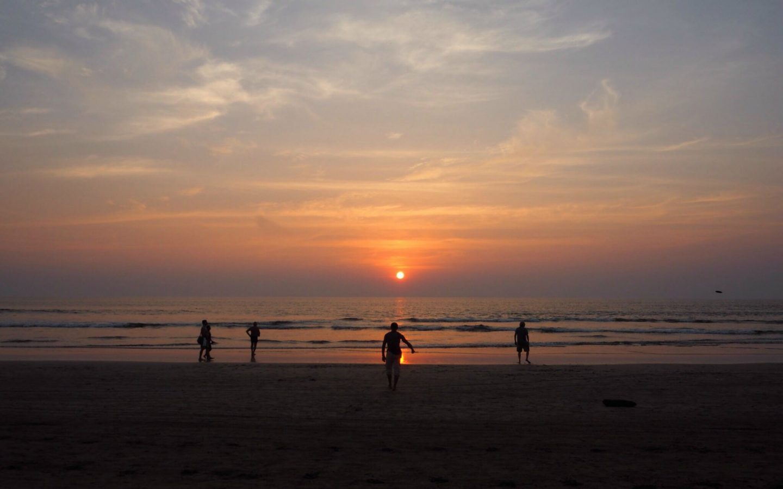 Sunset at Arambol Beach