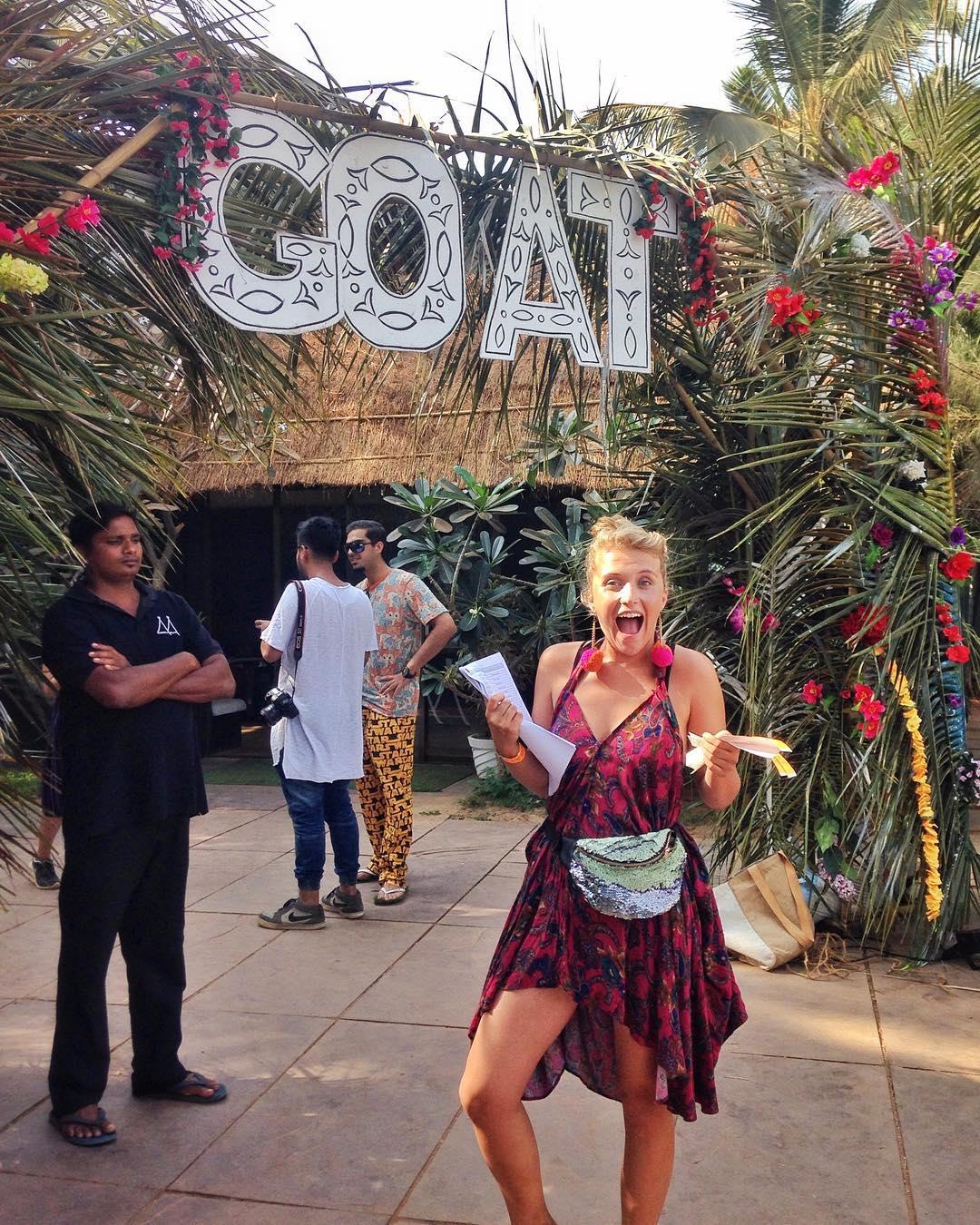 GOAT festival Goa India