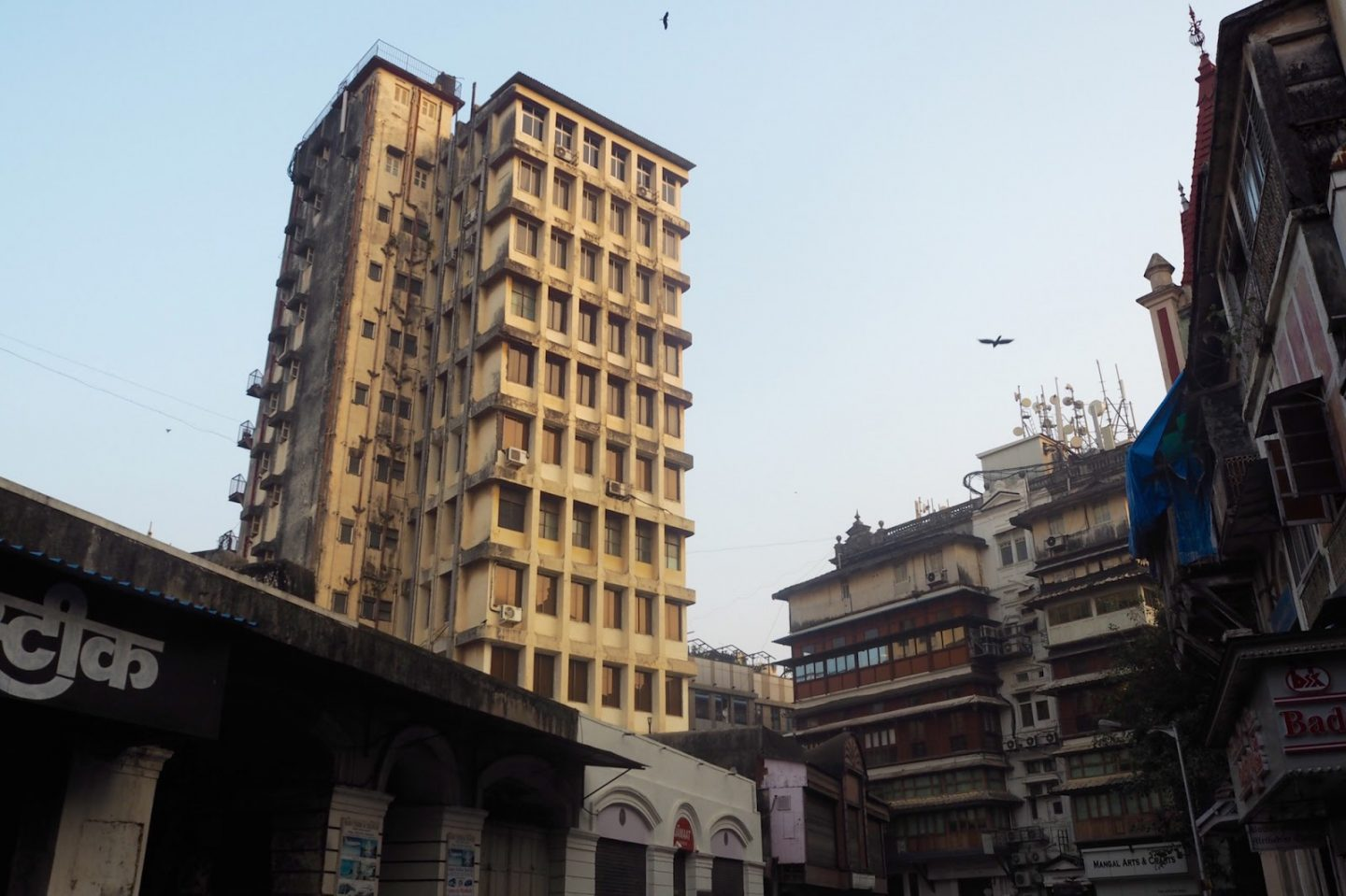 Mumbai tower block