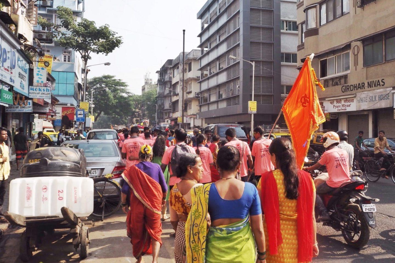 Mumbai hindu parade