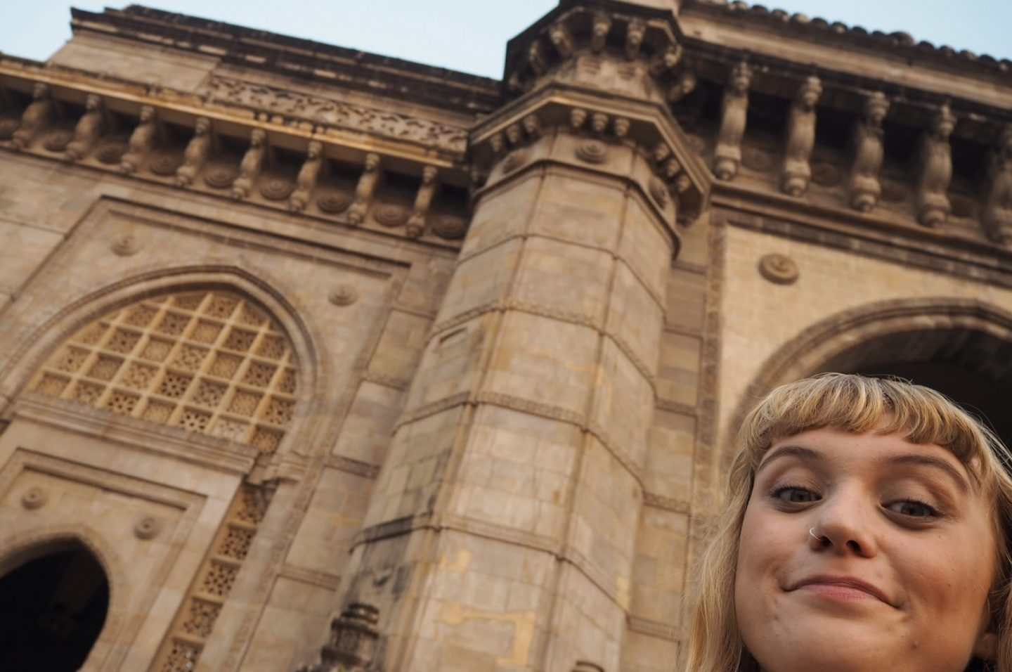 Visiting the Gateway of India at Sunrise as a solo female traveller