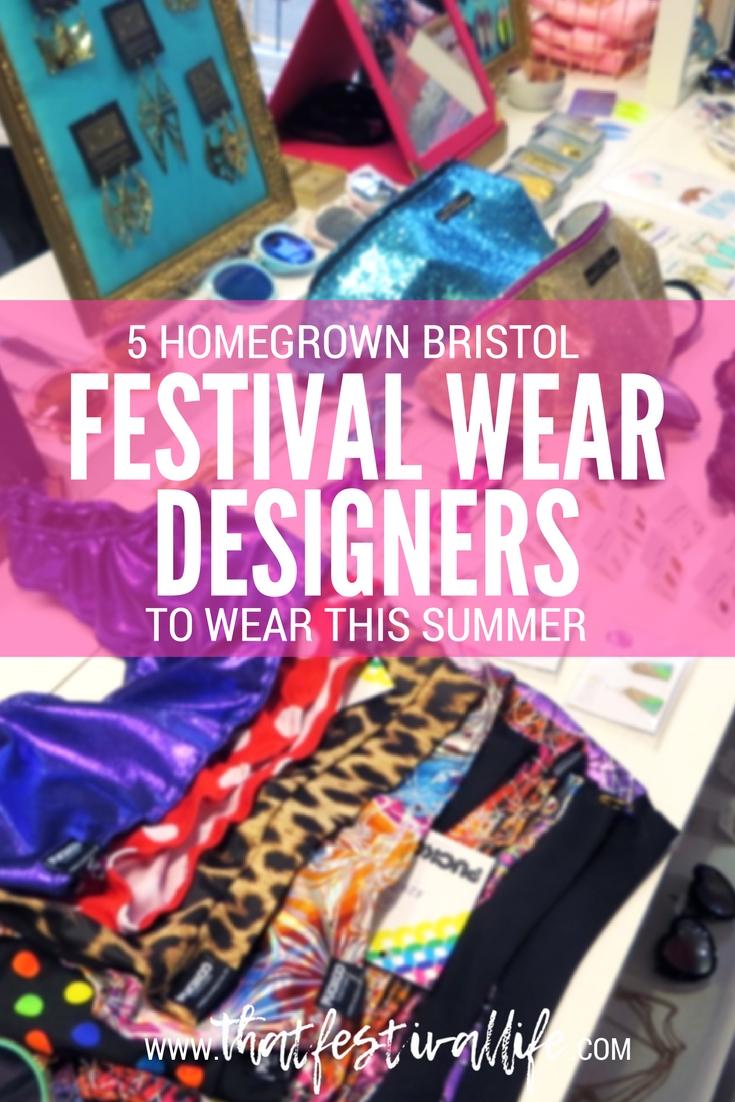 5 Bristol festival wear designers