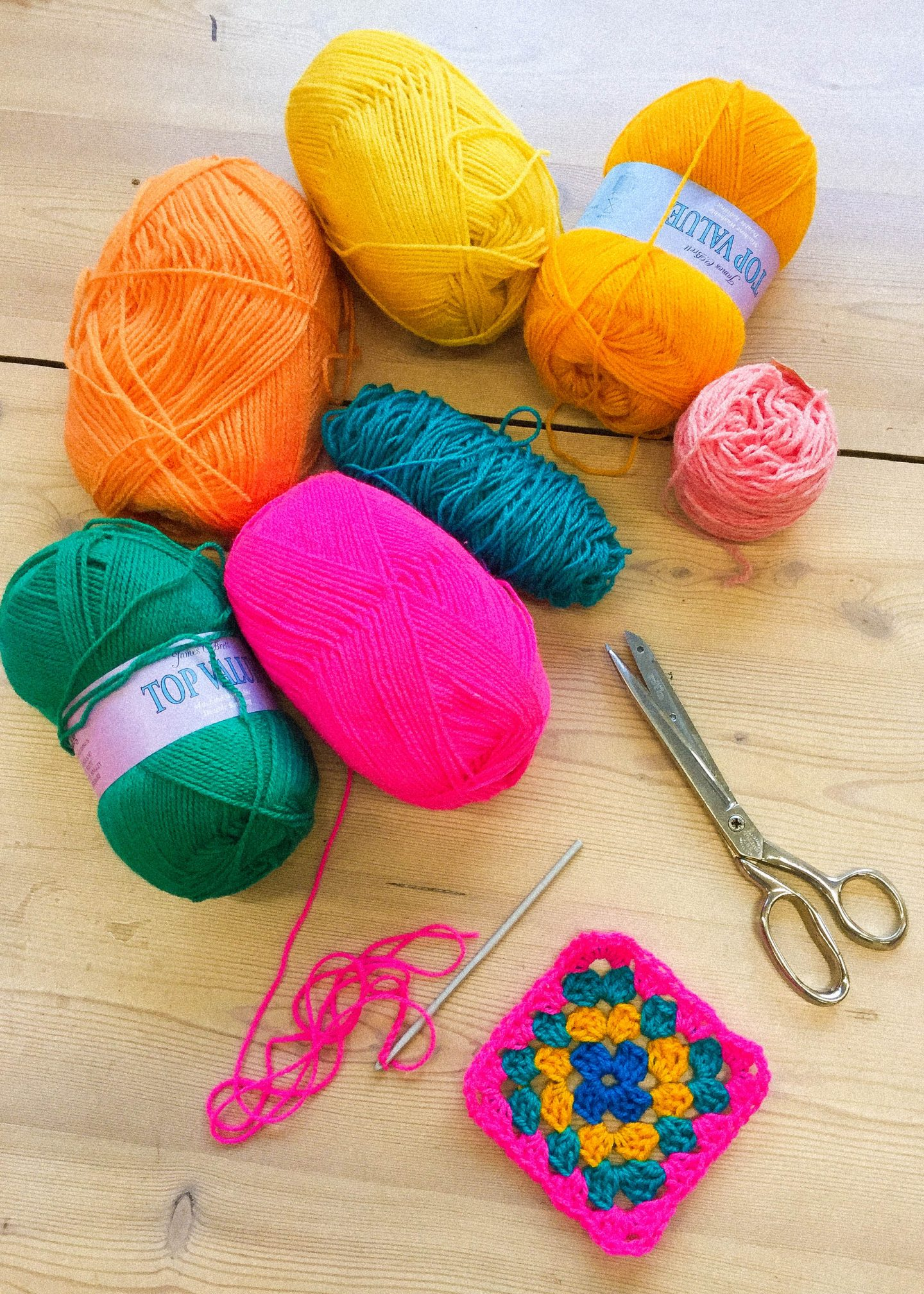 Stitch please! Collaborative crochet with Cathy for Brainchild festival