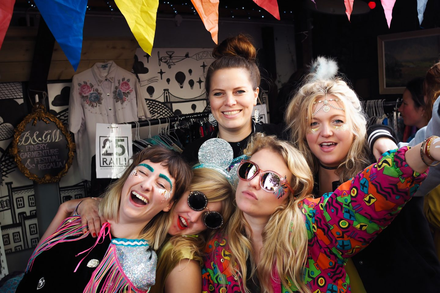 Bristol festival wear babes at Bzzaar