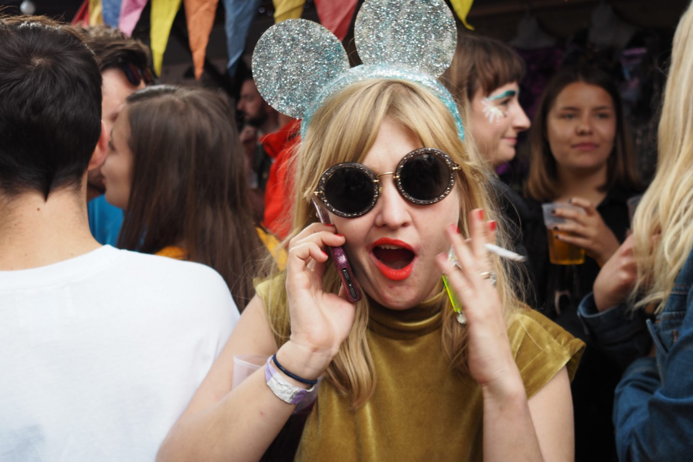 Jessica Bennet Kokomo glittery mickey mouse ears