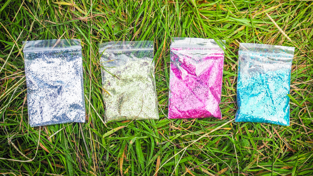 biodegradable festival glitter, chunky biodegradable glitter, eco-glitter, MGMA glitter, ethical festival beauty, eco-friendly cosmetics for festivals