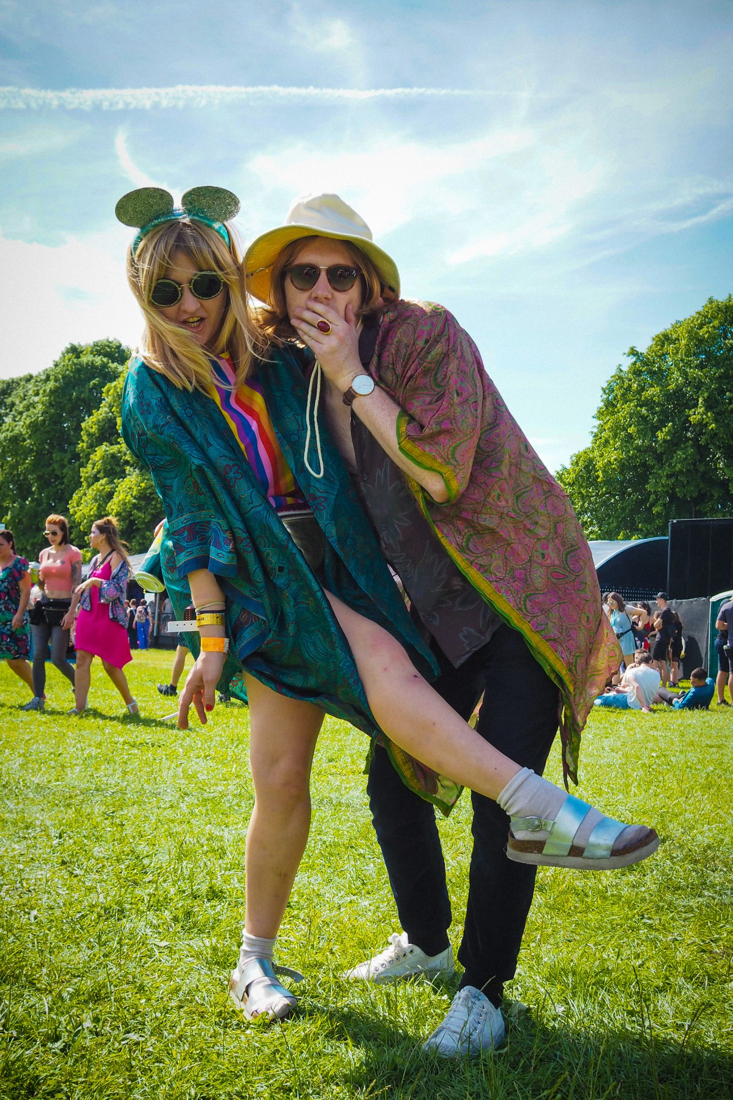 Dulcie's Feathers silk kimonos, Love Saves the Day Festival Bristol