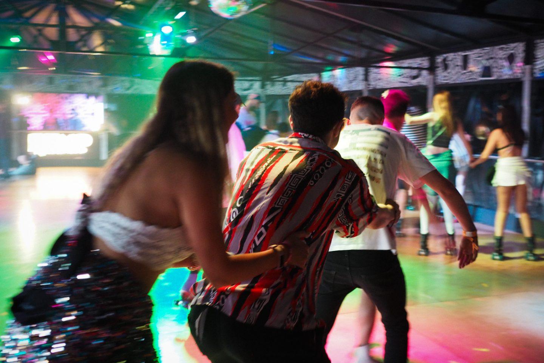 BUMP roller disco Bristol, Love Saves the Day festival,