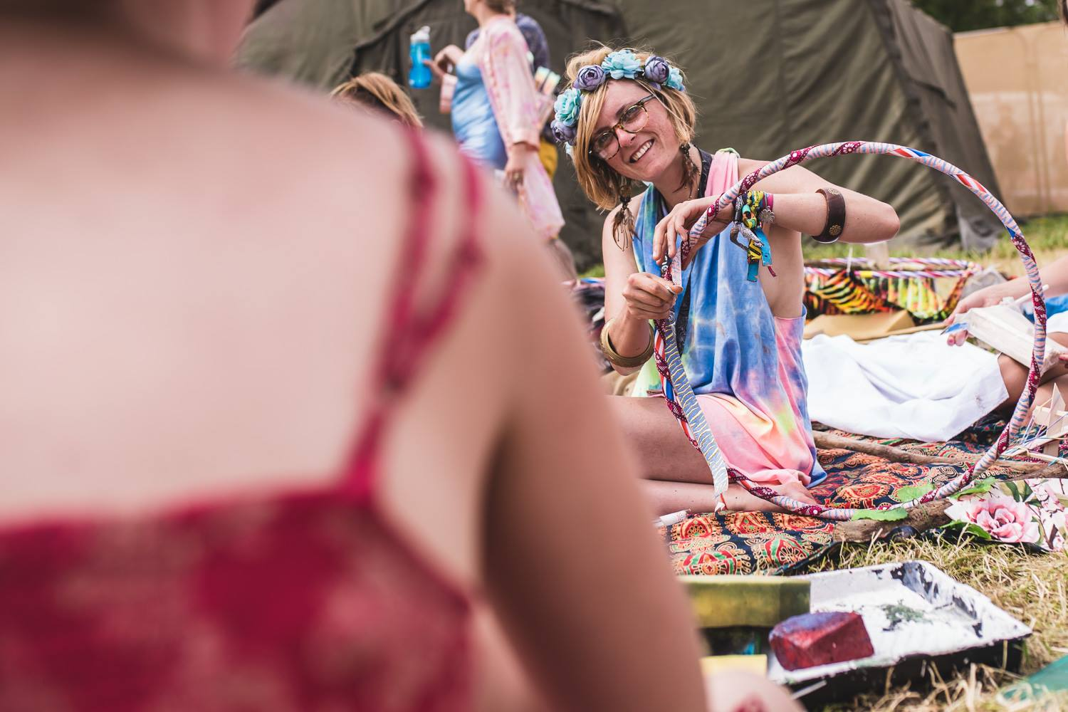 Guest Post: What it's like to do décor at festivals