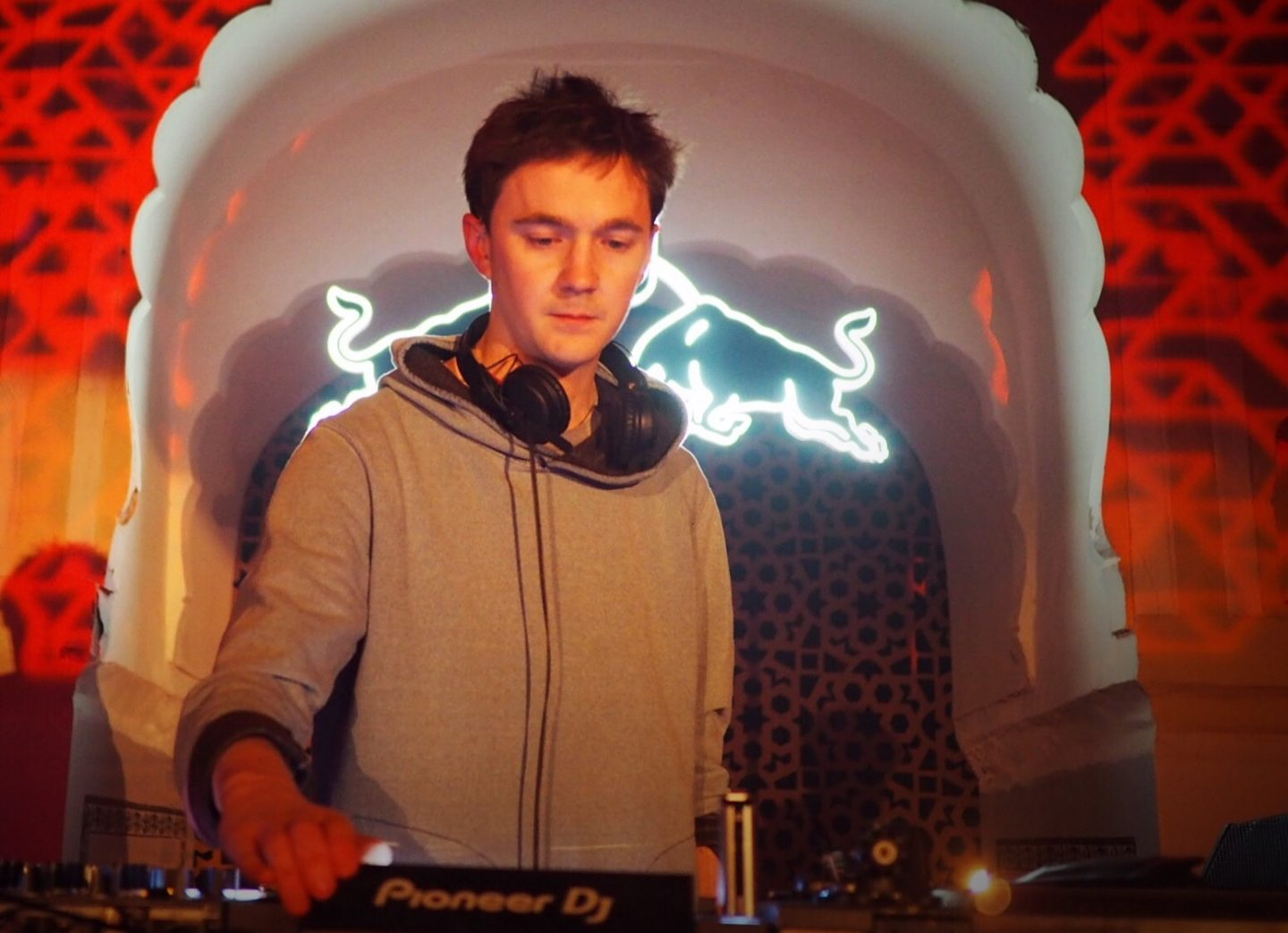 Ben UFO at Magnetic Fields Festival Rajasthan India by Georgiana Clark