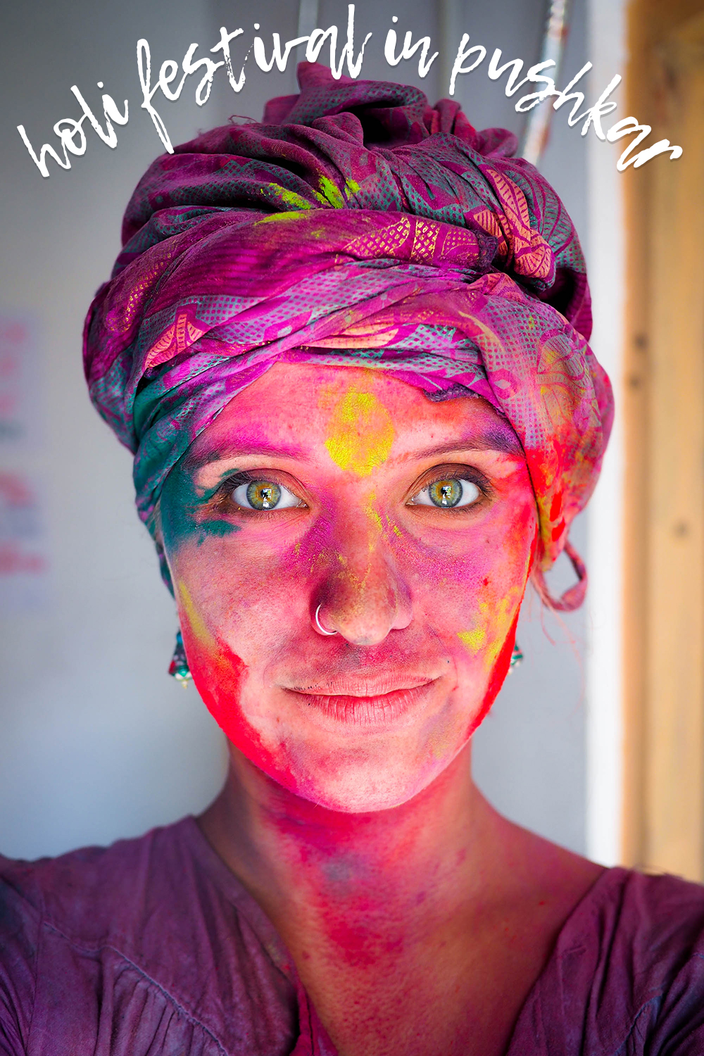 Celebrating Holi in Pushkar, India: The Most Colourful Festival in the World & its Darker Side