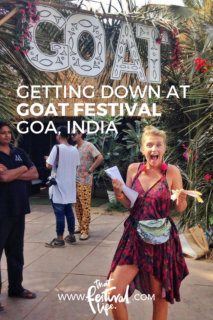 GOAT festival in Goa India