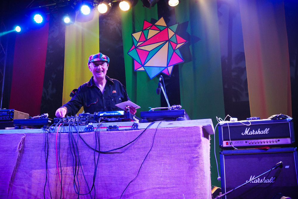 Earl Gateshead at Goa Sunsplash Reggae festival India