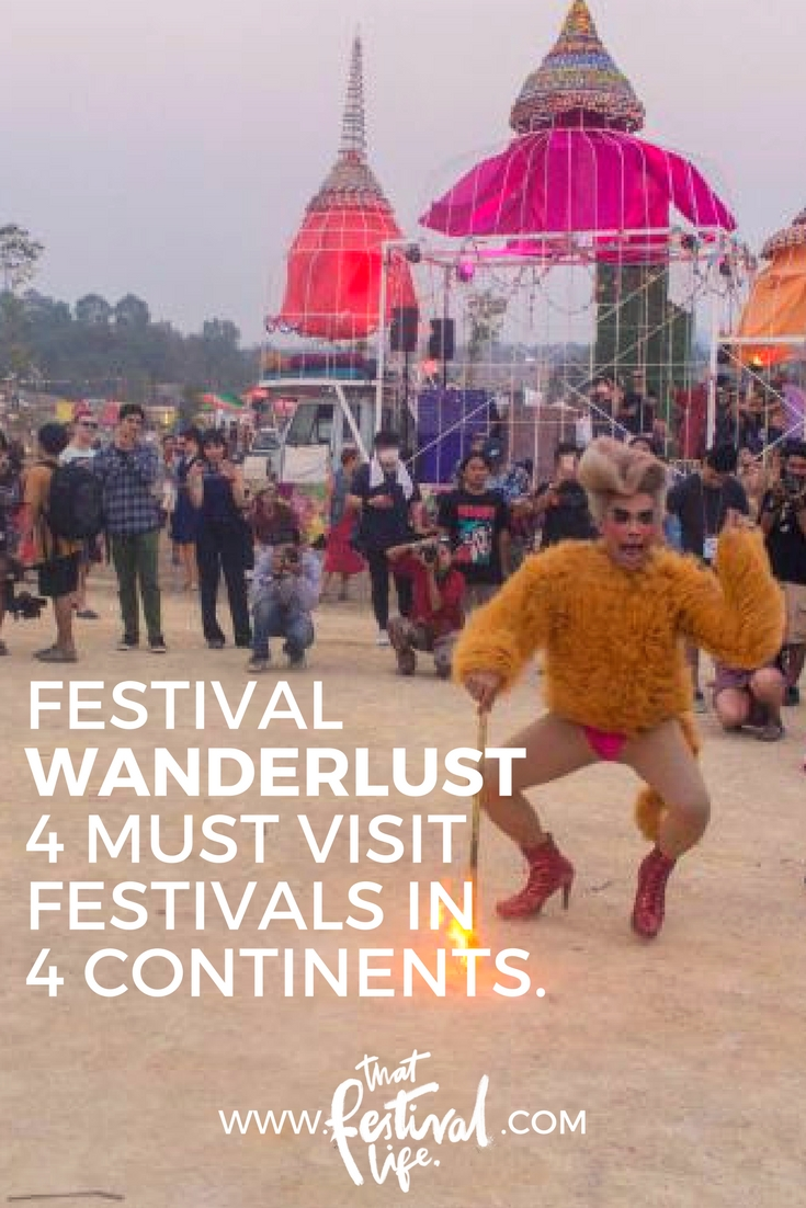 Festival wanderlust - four must visit international music festivals in four different continents.