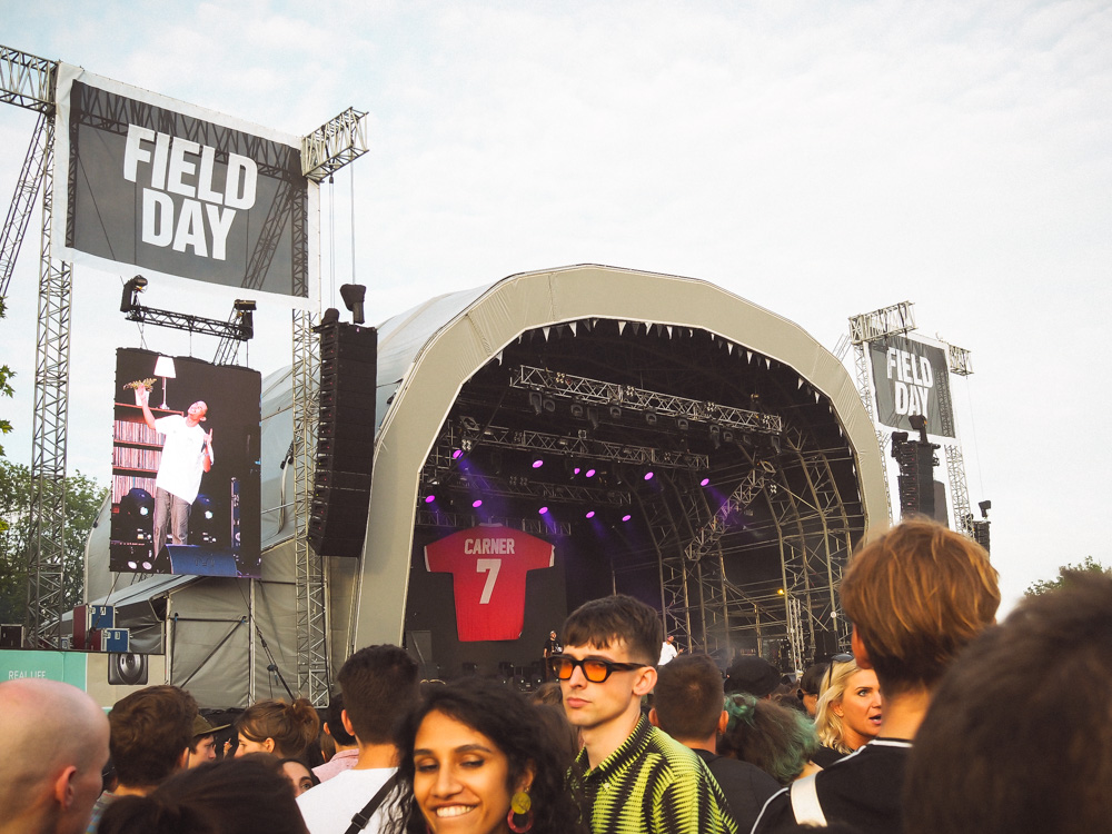 Loyle Carner Field Day Festival London