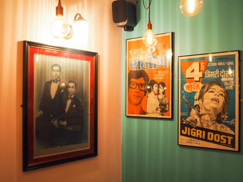 Indian Thali Cafe decor Bristol Montpelier