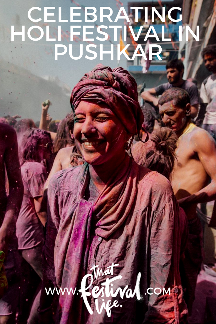 The most colourful festival in the world - and its darker side. Celebrating Holi in Pushkar, India