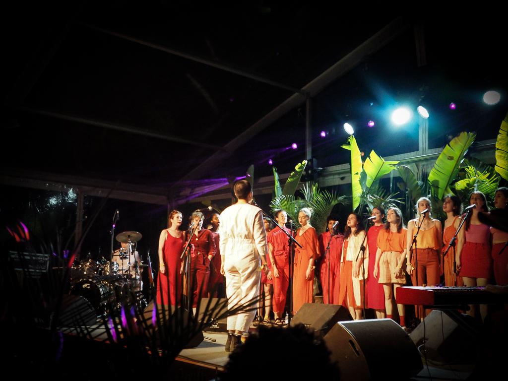 Deep Throat Choir at Beat Hotel Marrakech