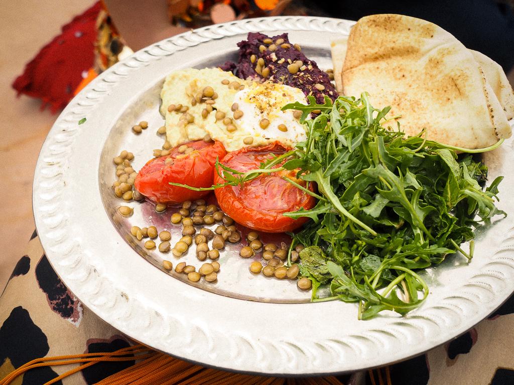 Mezze meals at Beat Hotel