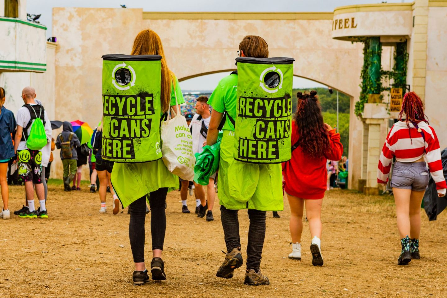 Every Can Counts, sustainability initiative at Boomtown Fair to encourage recycling