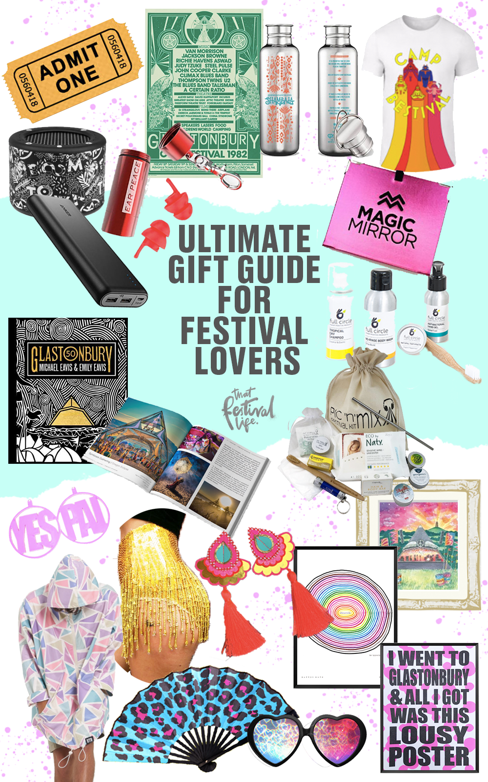 21 Epic Gift Ideas for Festival Lovers