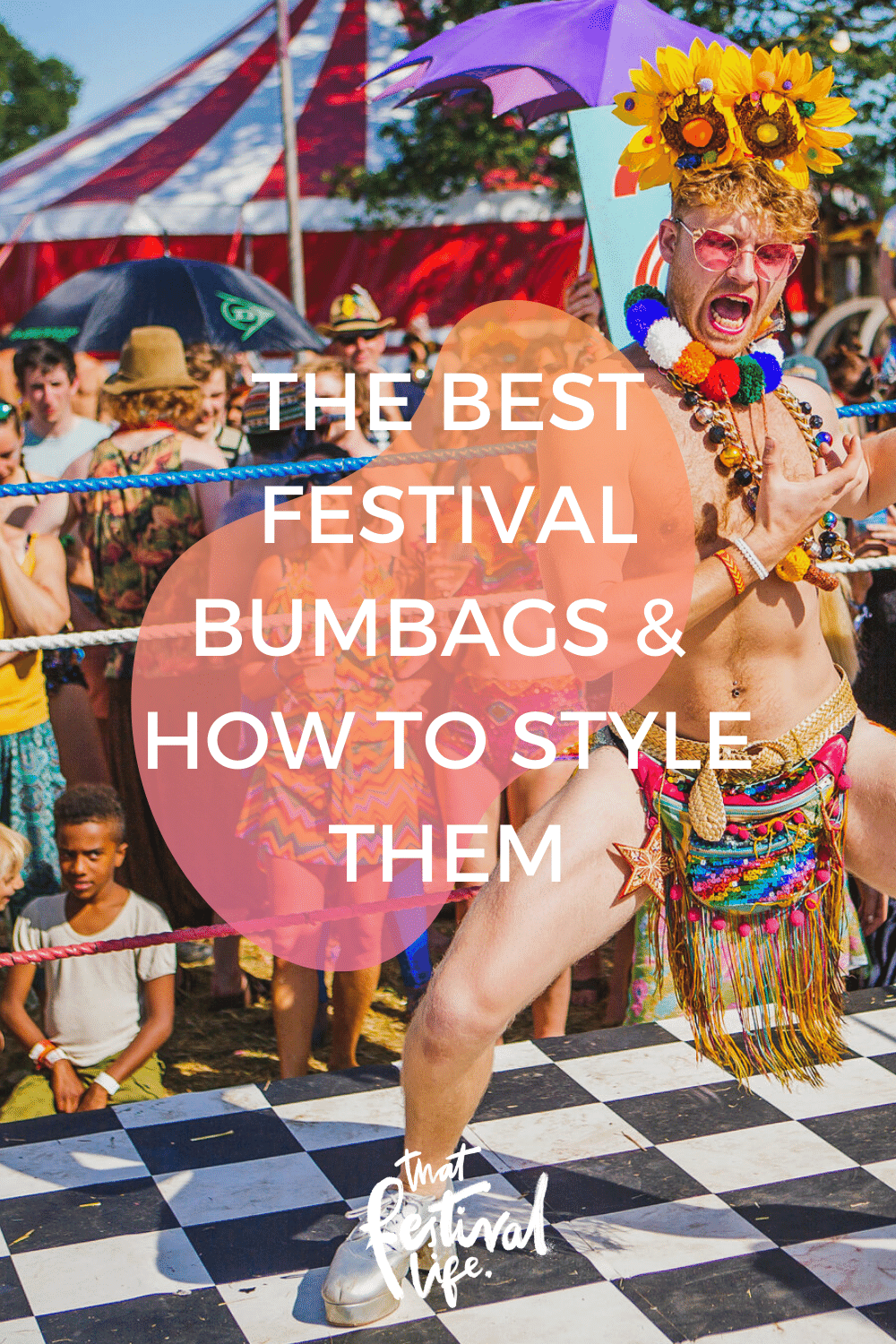 The Best Festival Bumbags And How to Style Them | The best independent makers and designers to get your festival fanny packs from! #FestivalOutfit #RaveInspiration #Shambala