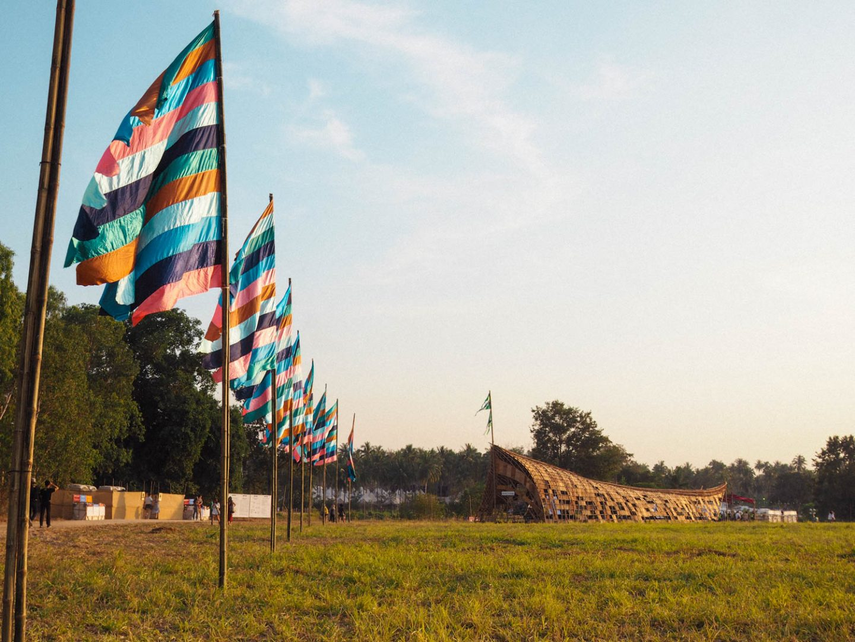 Wonderfruit Festival Entrance Flags