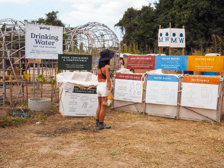 Wonderfruit Festival Waste Management Systems