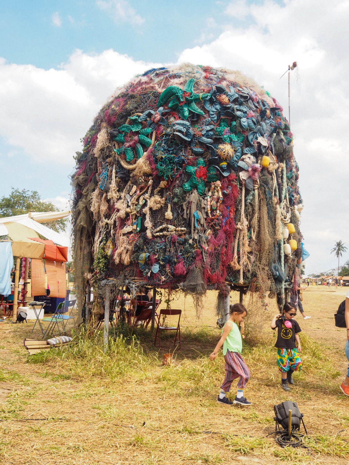 Wonderfruit Festival Art Sculpture