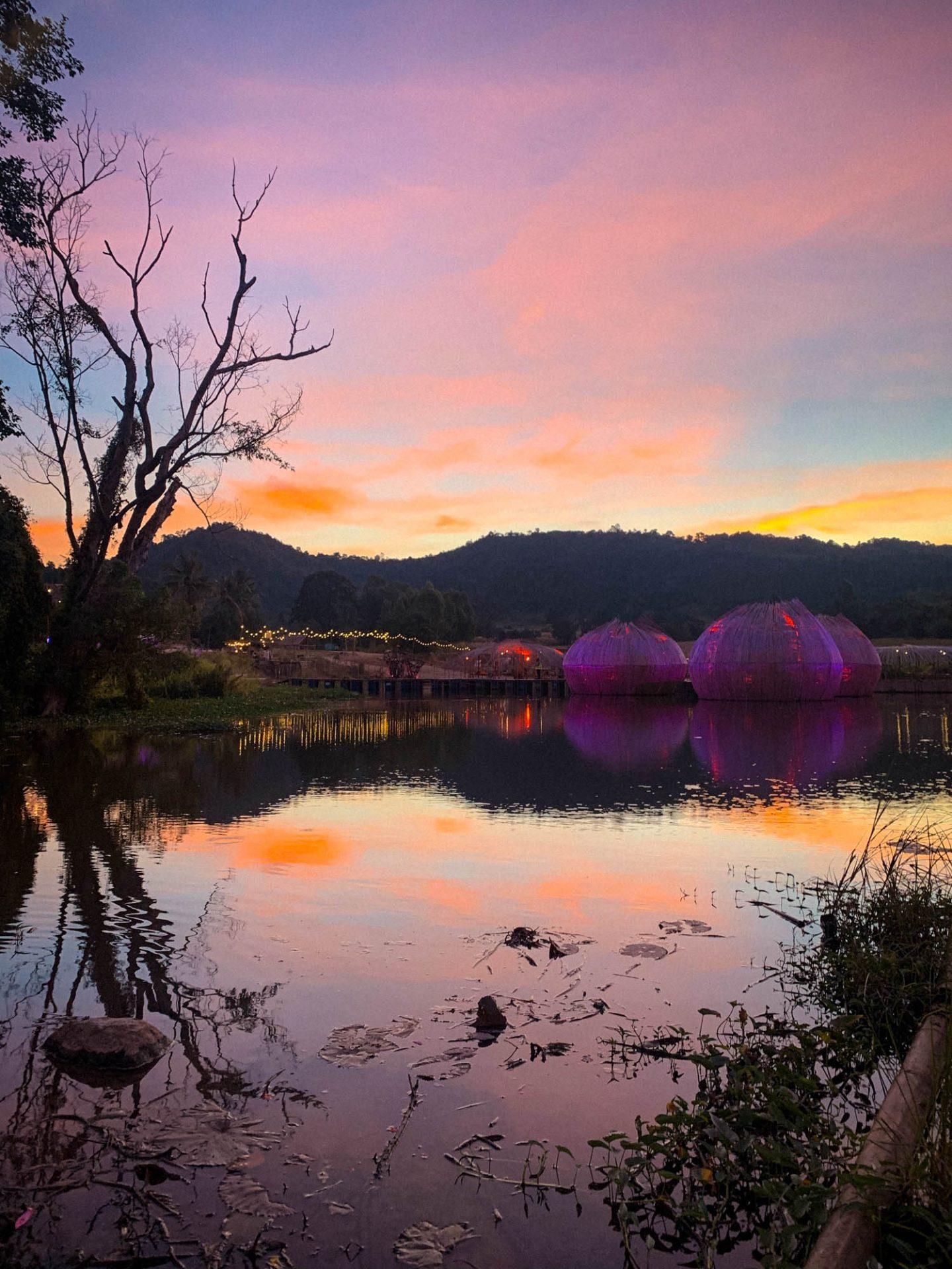 Wonderfruit festival sunrise