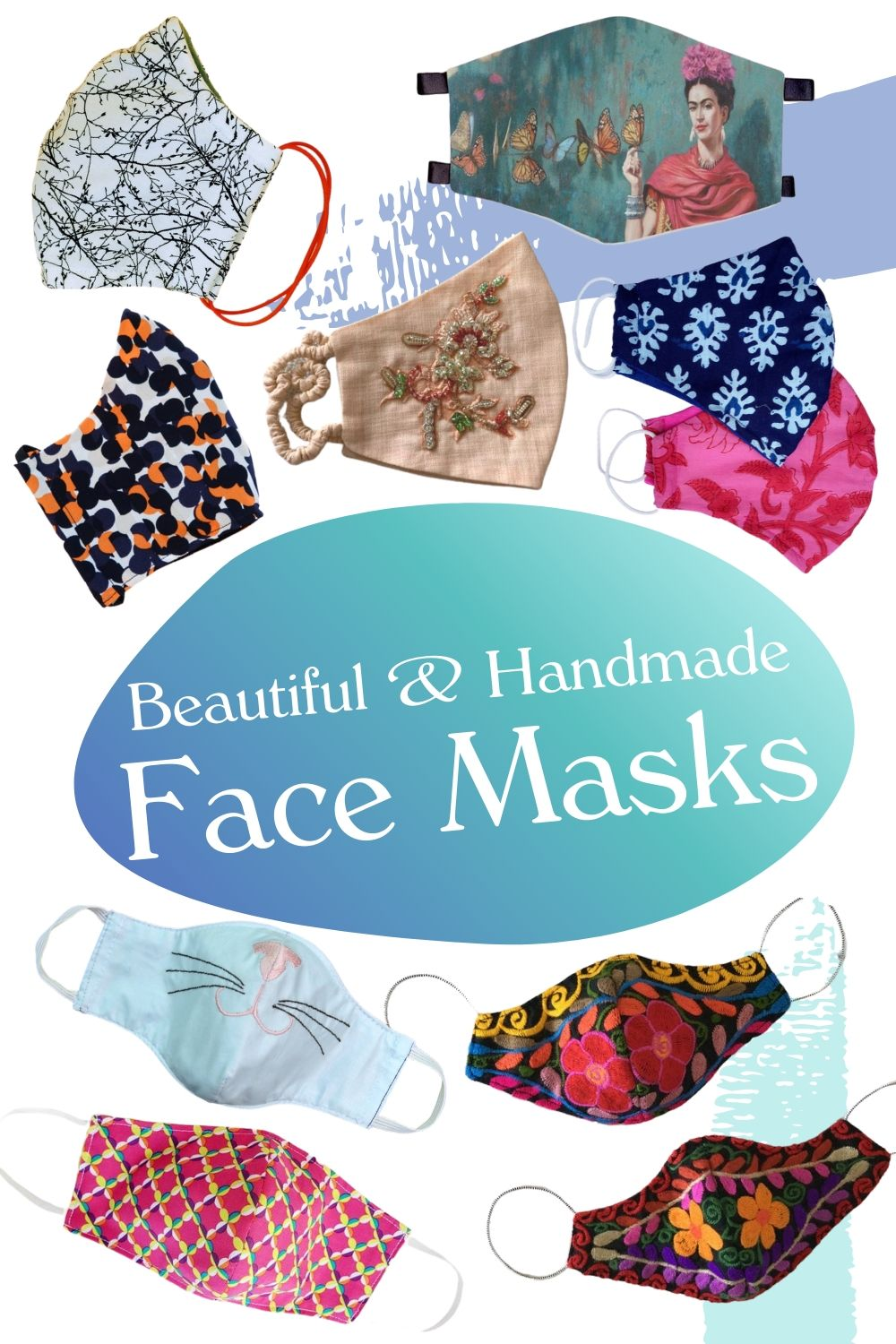 Fun and fashionable facemask ideas and inspo