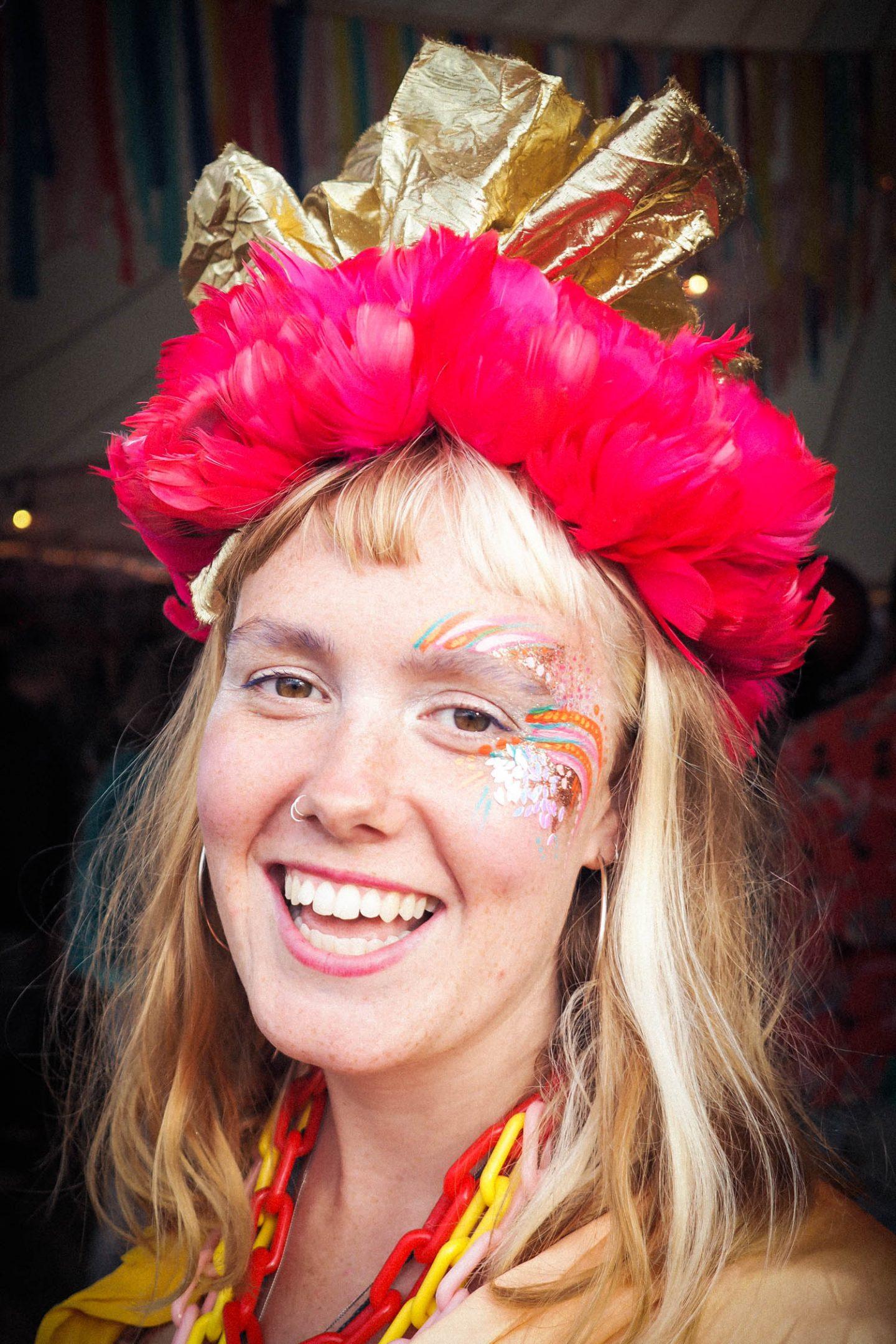 festival portrait headpiece