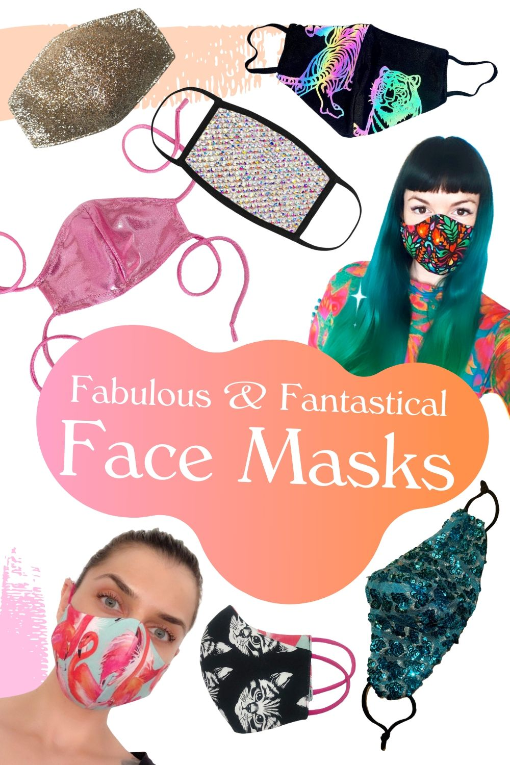 Fun & Fashionable Face Masks handmade by Independent Designers