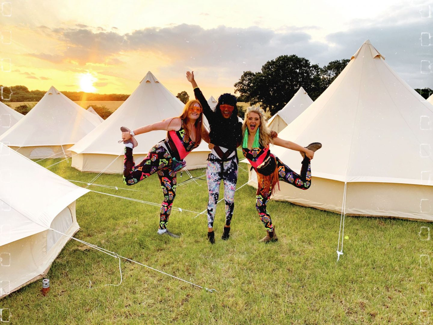 Camping in boutique at Noisily Review