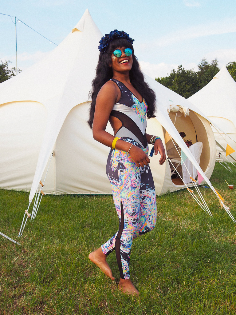 Festival catsuit styling