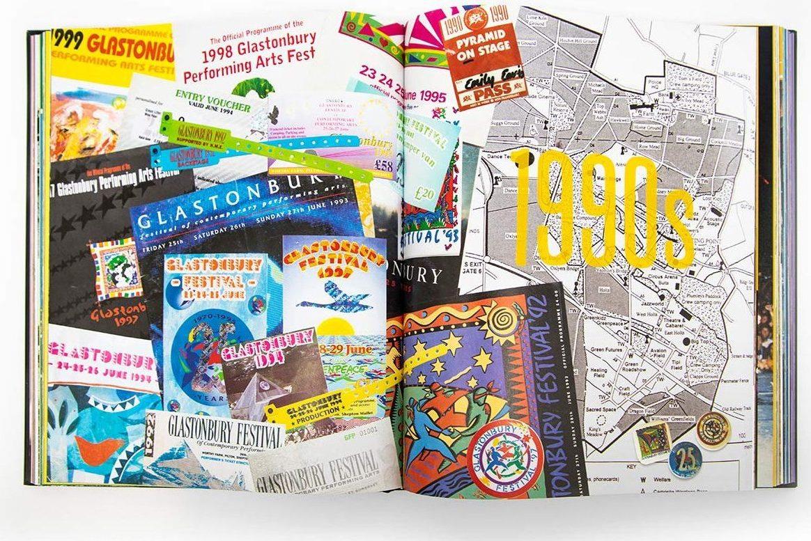 Glastonbury books about festivals