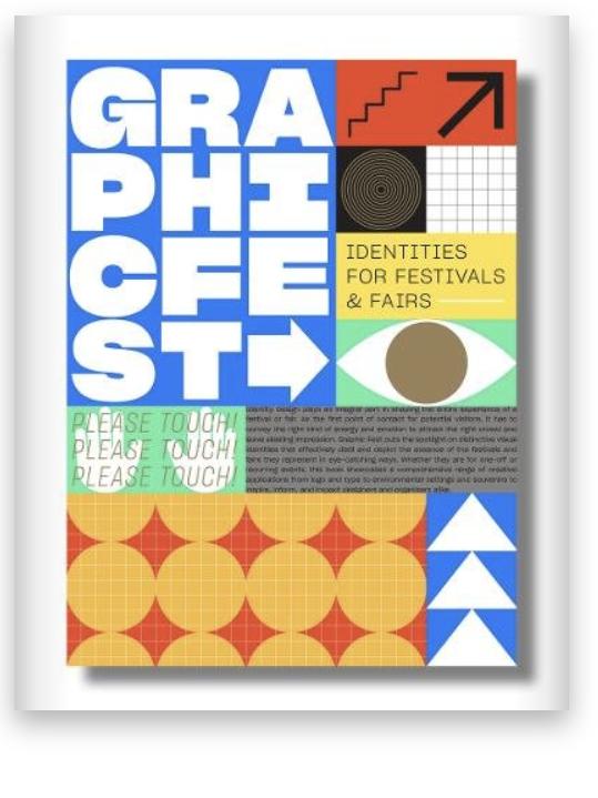 Graphic books about festivals