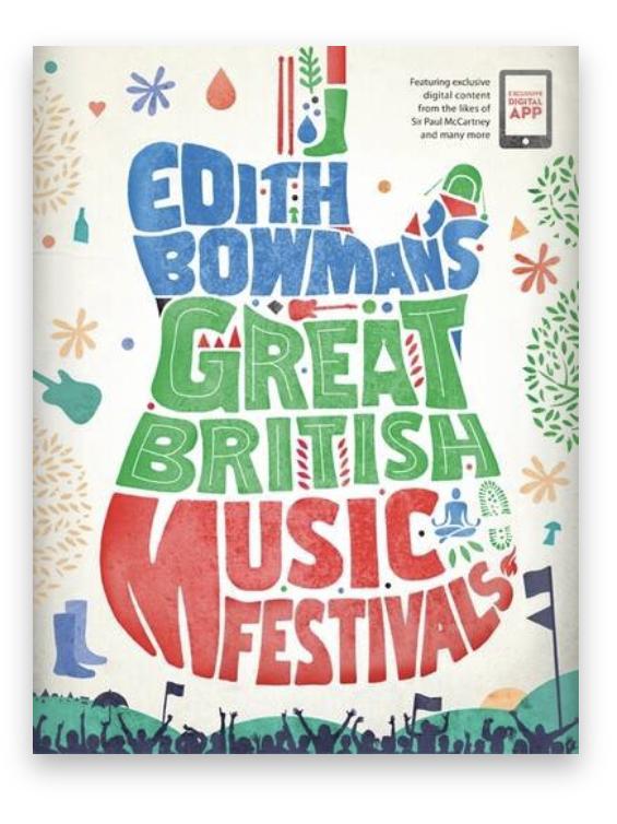 Festival guide book by Edith Bowman