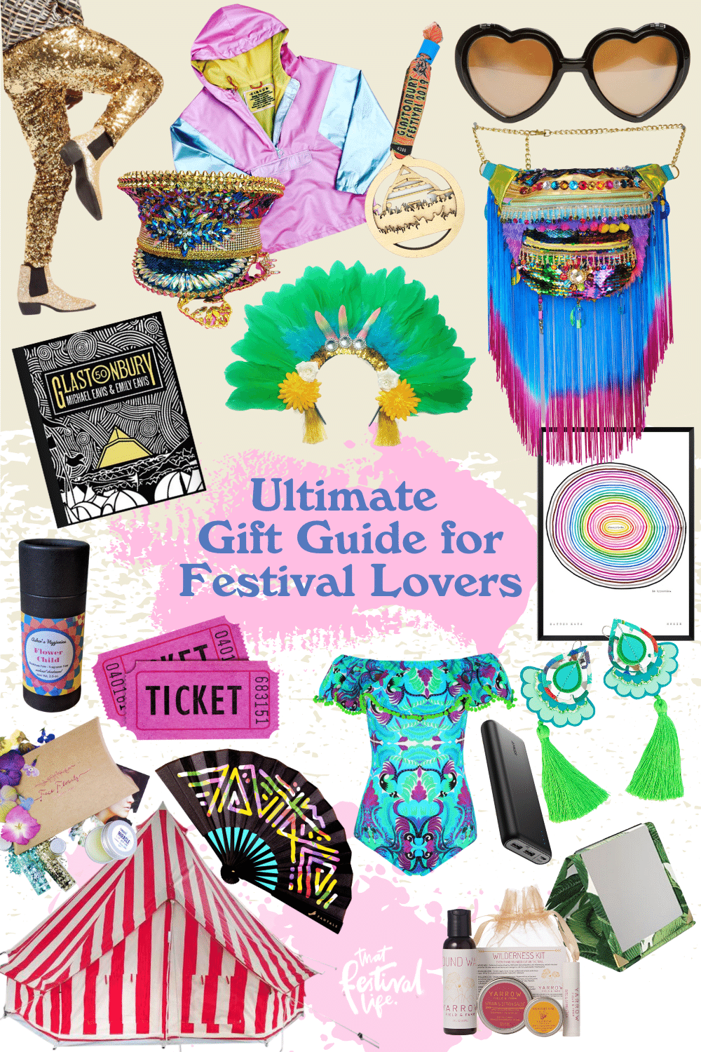 Present ideas and Gifts for festival goers
