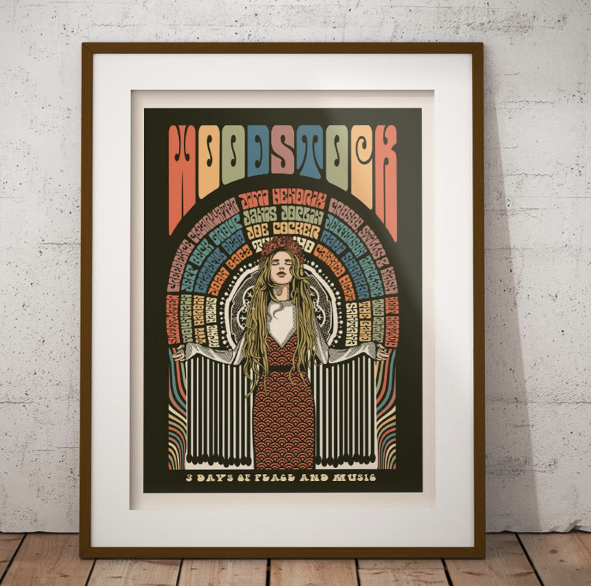 Art prints for festival goers