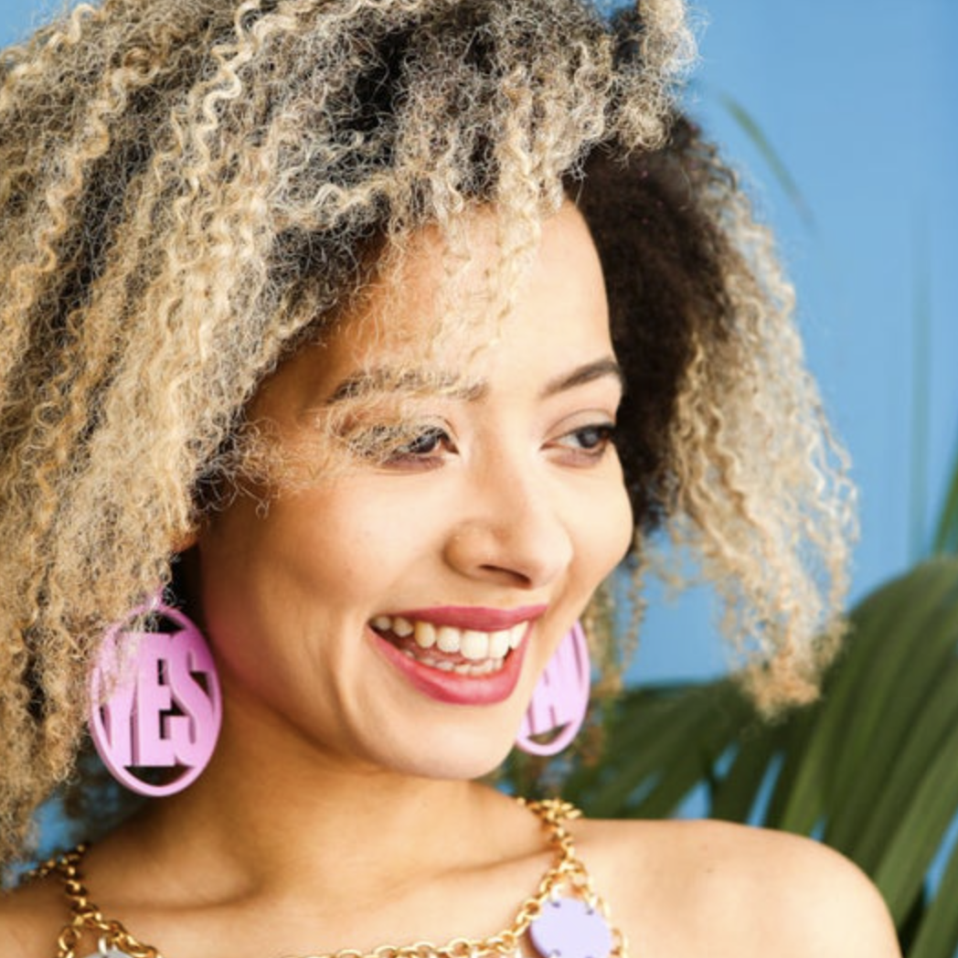 Statement festival earrings