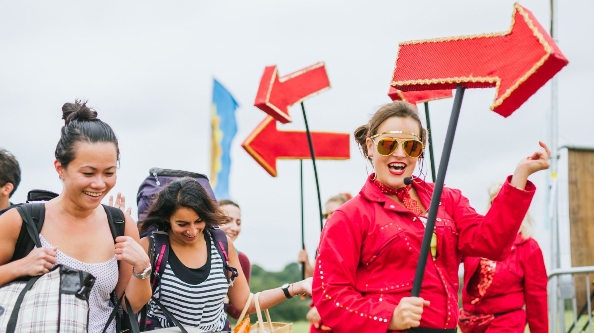 Arriving at Boomtown Festival, which festival bag to bring?