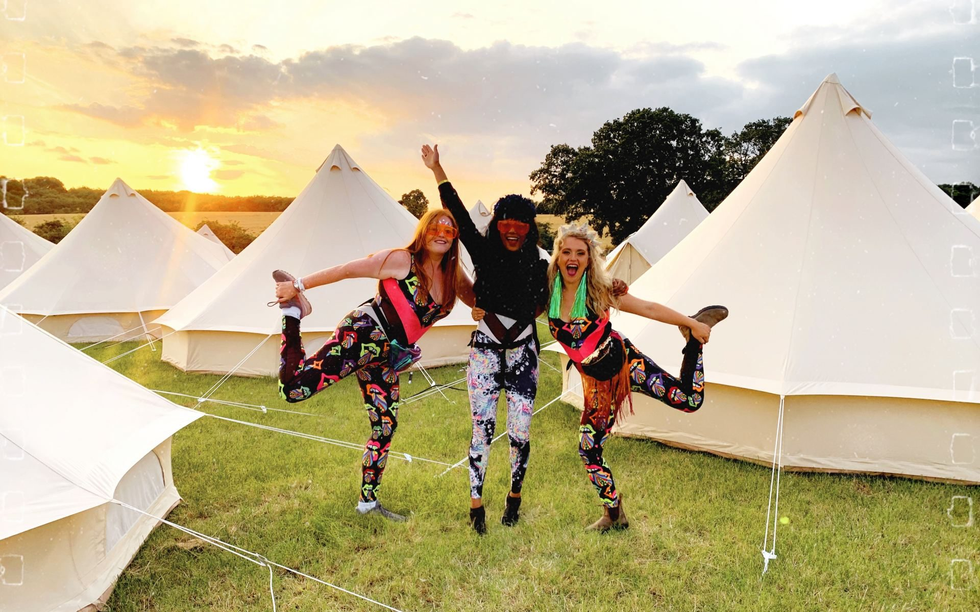 Festival Catsuits at Noisily Festival