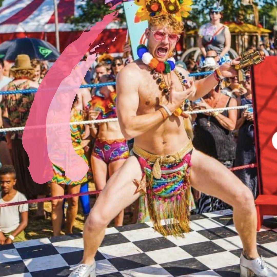 custom festival bumbag