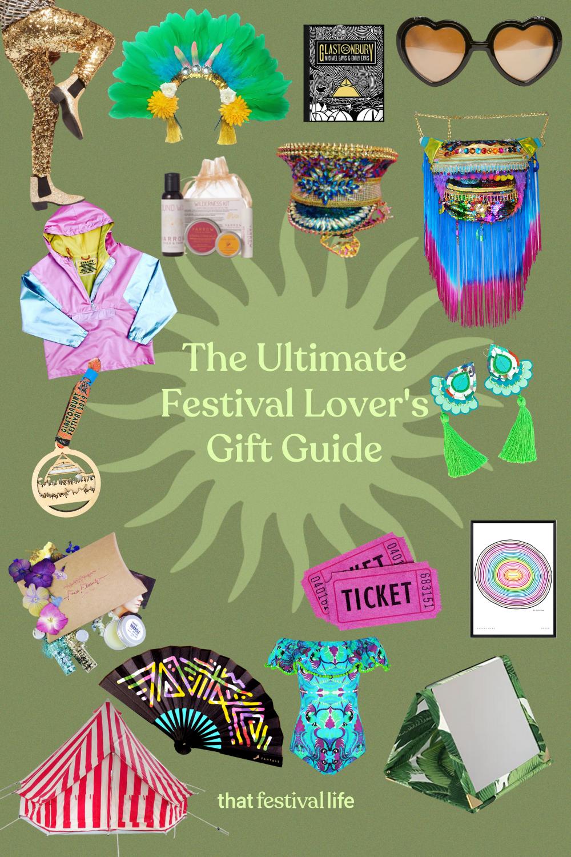 List of gift ideas for festival goers