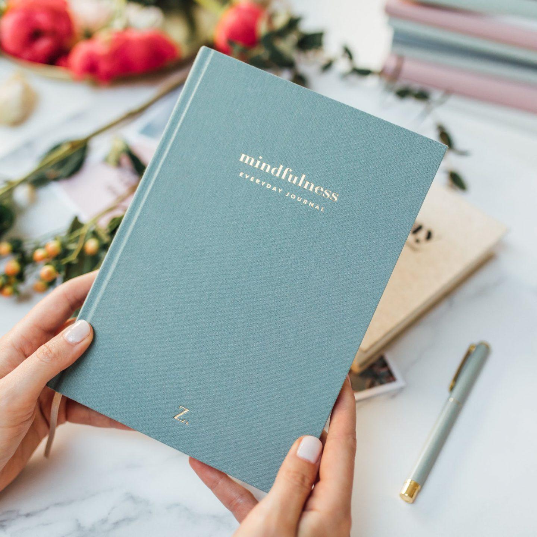 Mindfulness journal for yoga